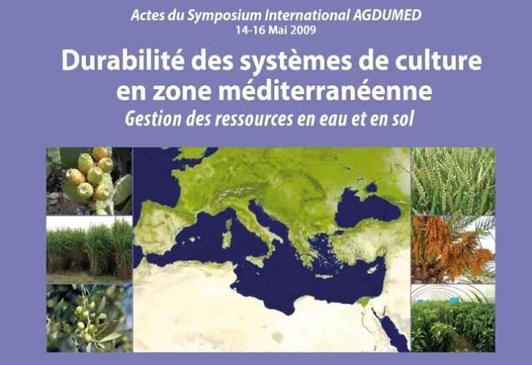 Contraintes et perspectives de développement pour l'Agriculture Méditerranéenne