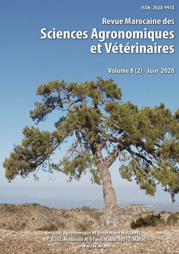 Revue Marocaine des Sciences Agronomiques et Vétérinaires 8(2) – Juin 2020