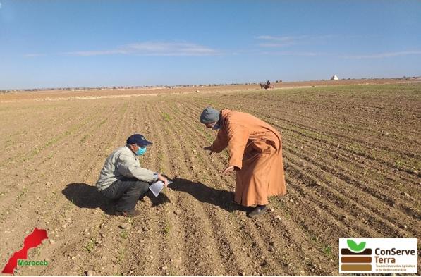 Ecole au champ de Oued Zem: Connaître le sol
